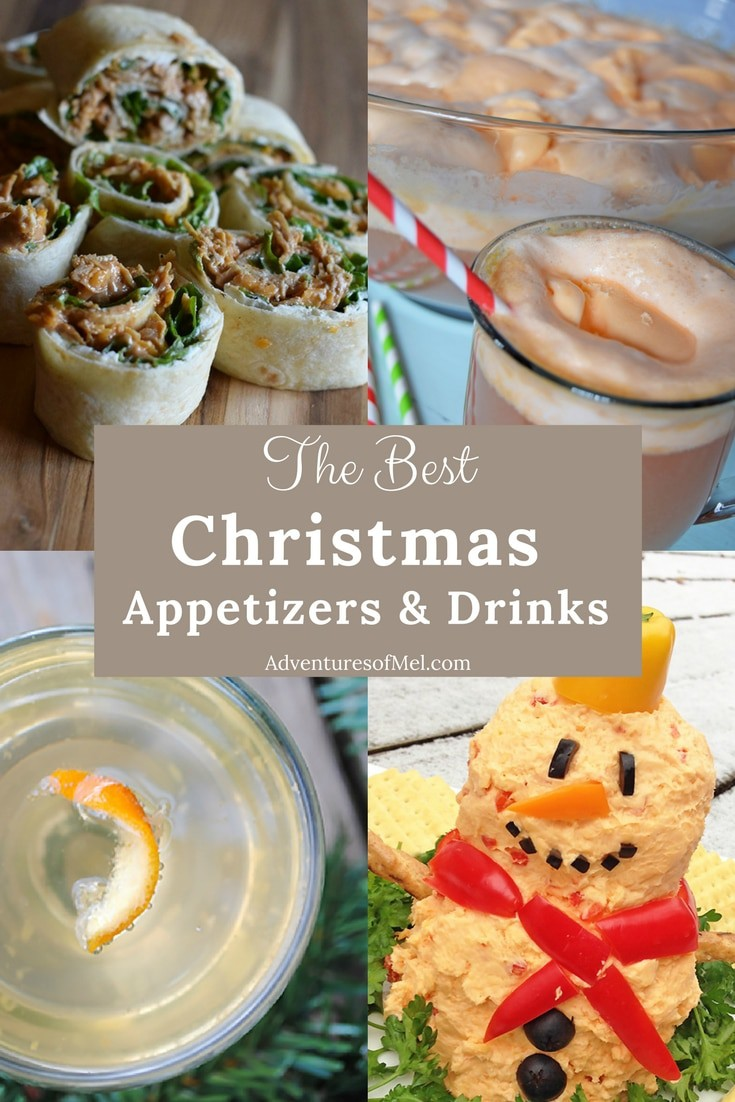 Christmas recipes to add to your holiday dinner menu, including my family's favorite appetizers and drinks. Delicious appetizer and drink recipes for your Christmas dinner or celebration.