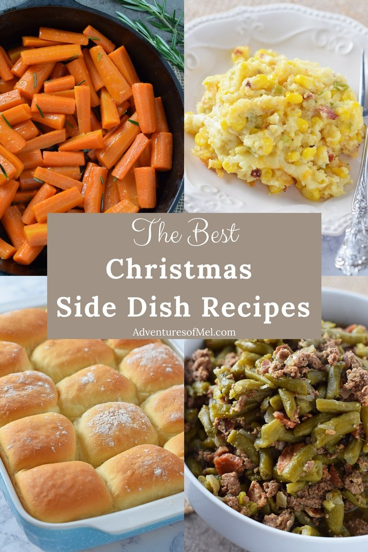 Christmas recipes to add to your holiday dinner menu, including my family's favorite side dish recipes. Delicious sides for your Christmas dinner or holiday celebration.