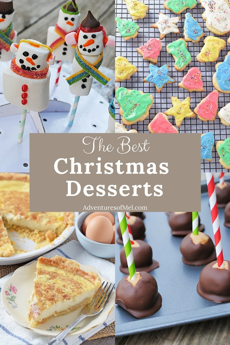 Christmas recipes to add to your holiday dinner menu, including my family's favorite desserts. Delicious sweet treats for your Christmas dinner or holiday celebration.