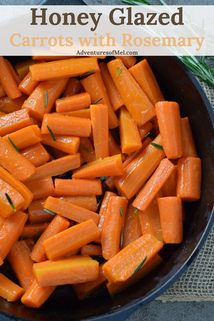 Whether holiday meals or weeknight dinners, Honey Glazed Carrots make a kid-friendly side dish the whole family will love. Simple and easy recipe.