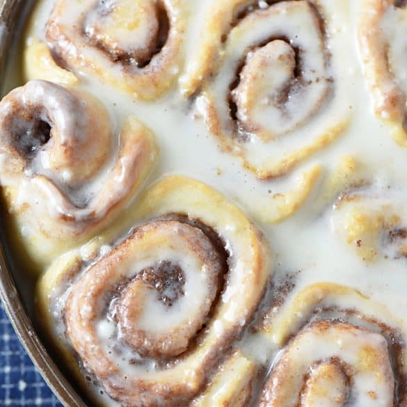 Biscuit Cinnamon Rolls are so easy to make; they're a delicious alternative to traditional cinnamon rolls, and they're no rise! Sweet breakfast treat perfect for the holidays or anytime!
