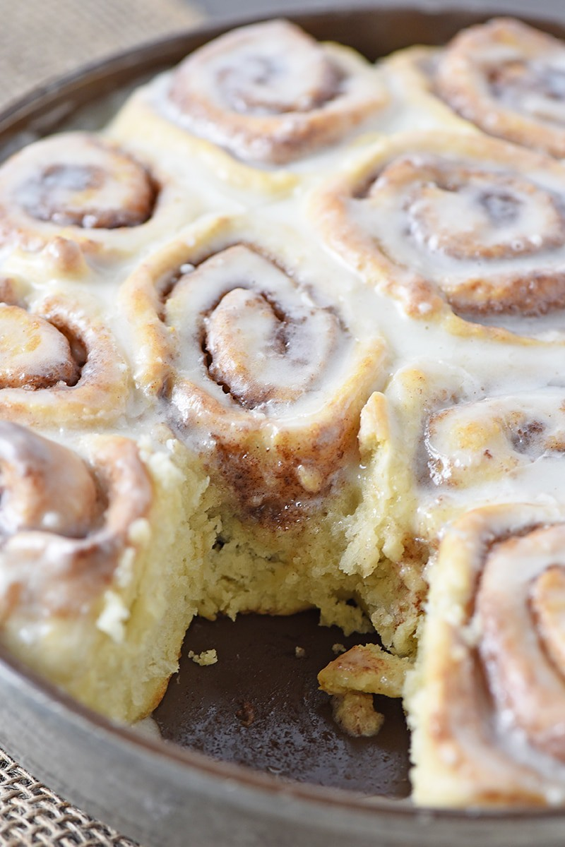 Ooey gooey, homemade Biscuit Cinnamon rolls are so easy to make. They're delicious too. This recipe is my go to when I'm craving cinnamon rolls but don't want all the hassle of a traditional recipe.