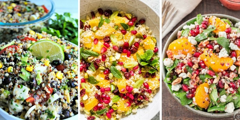 Colorful Salads dinner ideas