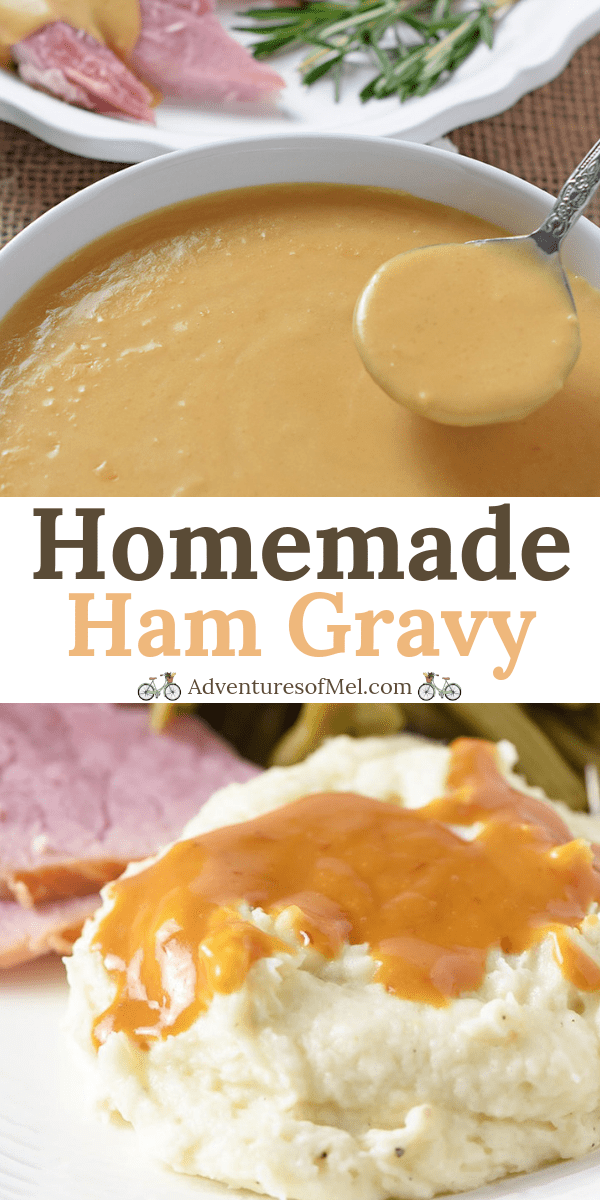 how to make homemade ham gravy