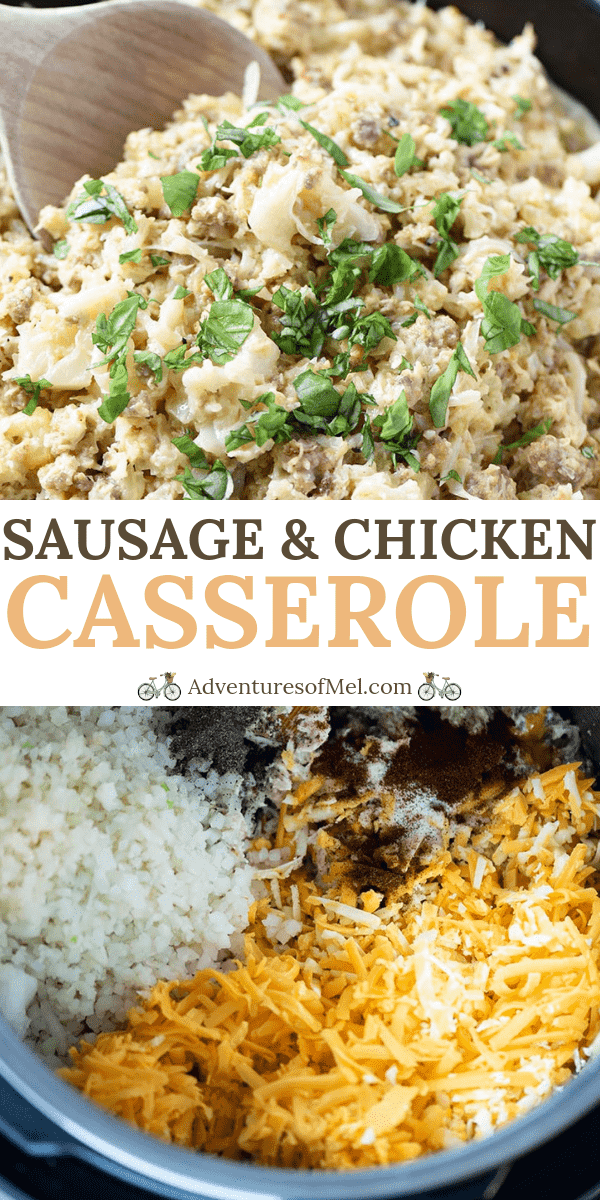 Instant Pot sausage and chicken casserole recipe