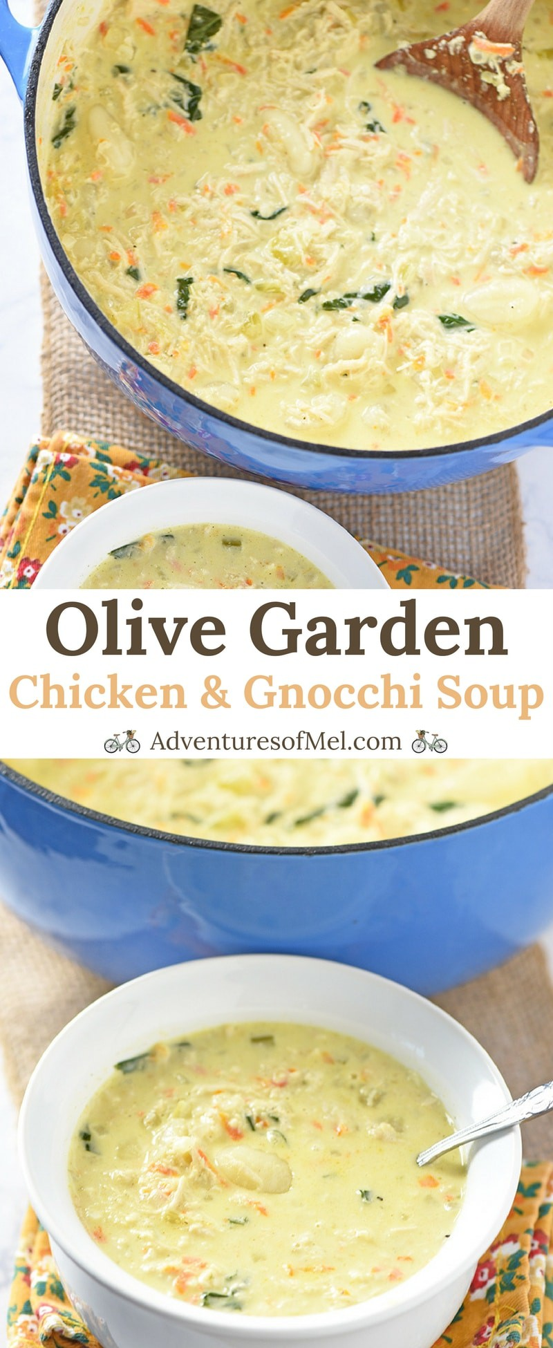 Olive garden chicken and gnocchi soup copycat - Gnocchi soup olive garden recipe ...