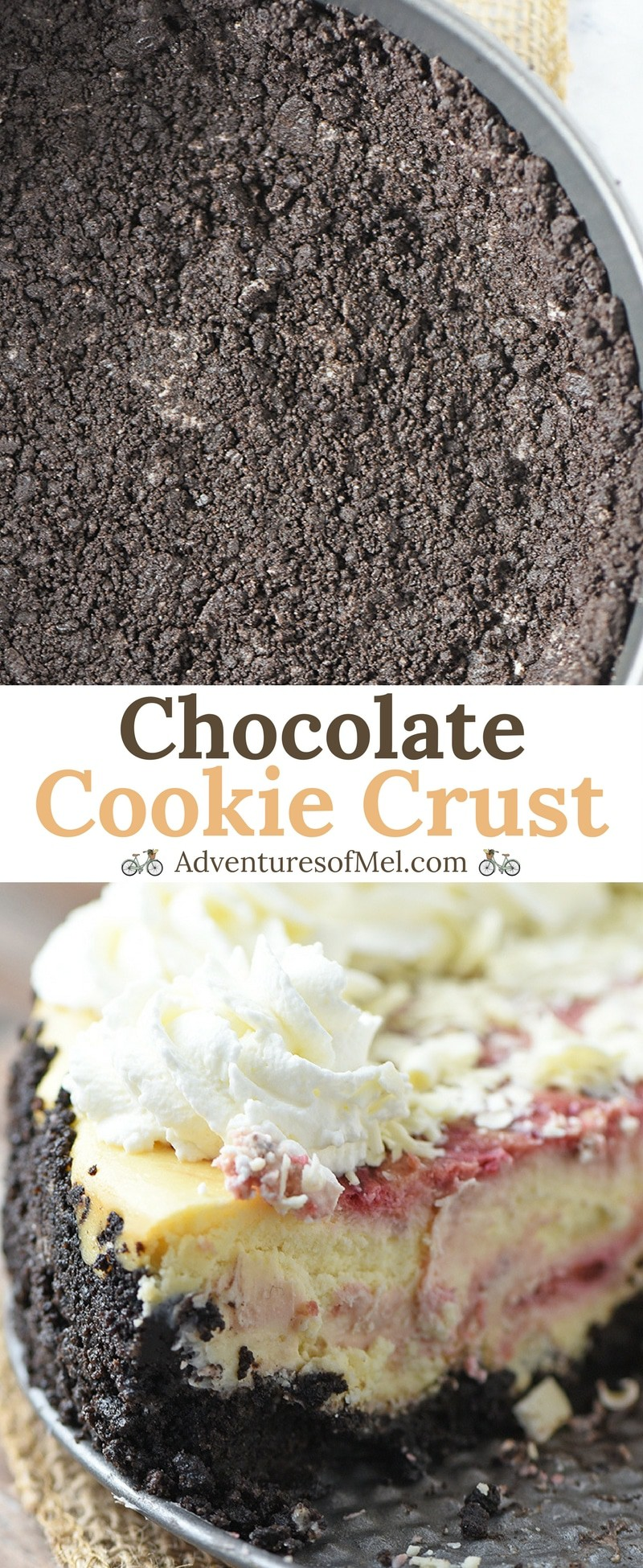 Chocolate Cookie Crust for Simple Desserts
