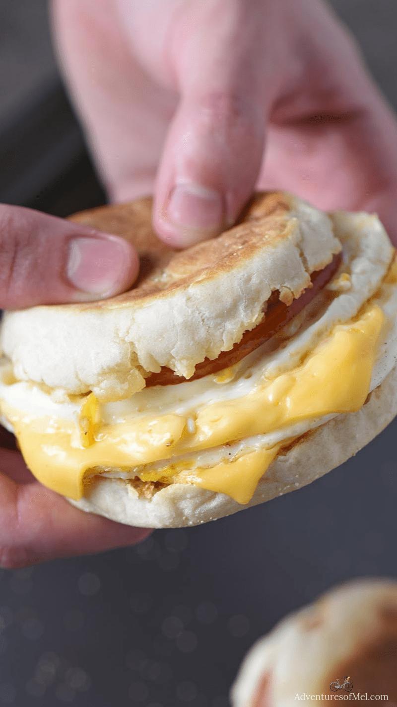 McDonald's Egg McMuffin breakfast sandwich copycat recipe