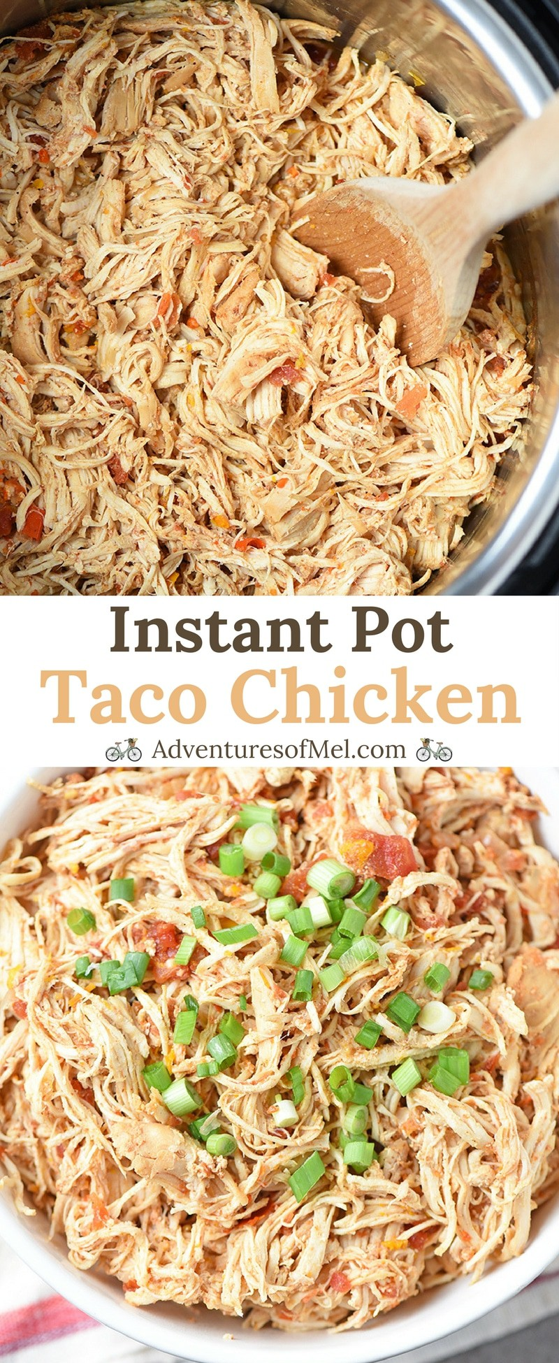 Instant Pot Taco Chicken Recipe