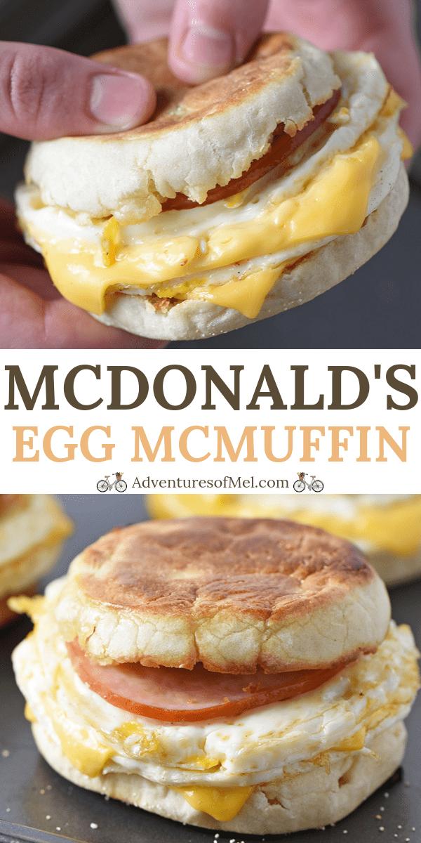 McDonald's Egg McMuffin Breakfast Sandwich Recipe