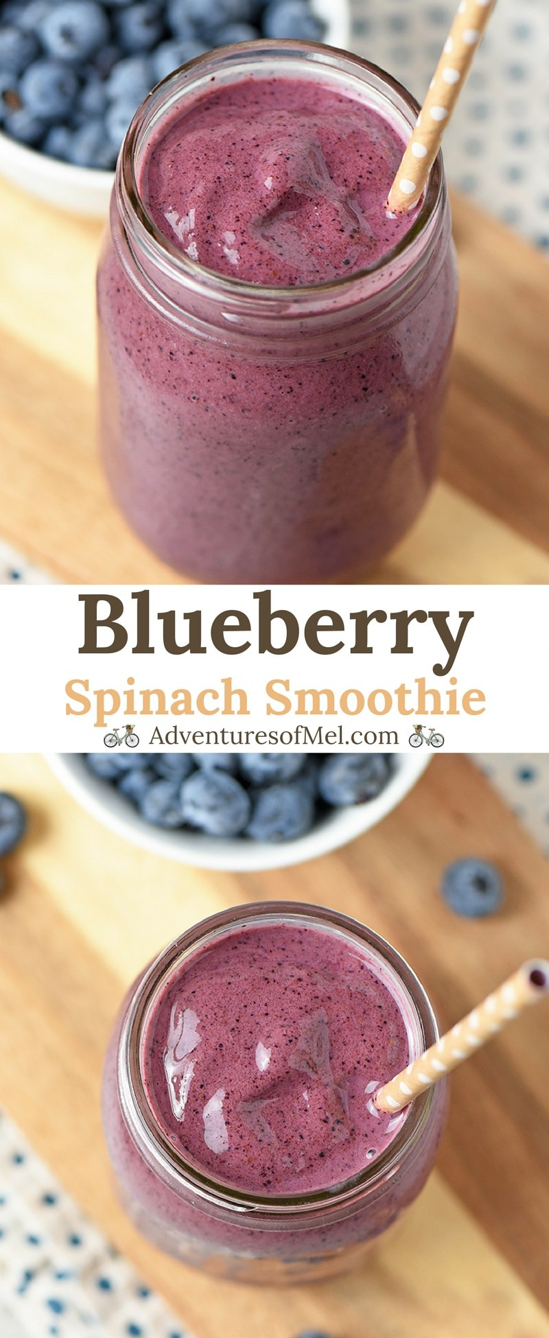Recipe for Blueberry Spinach Smoothie