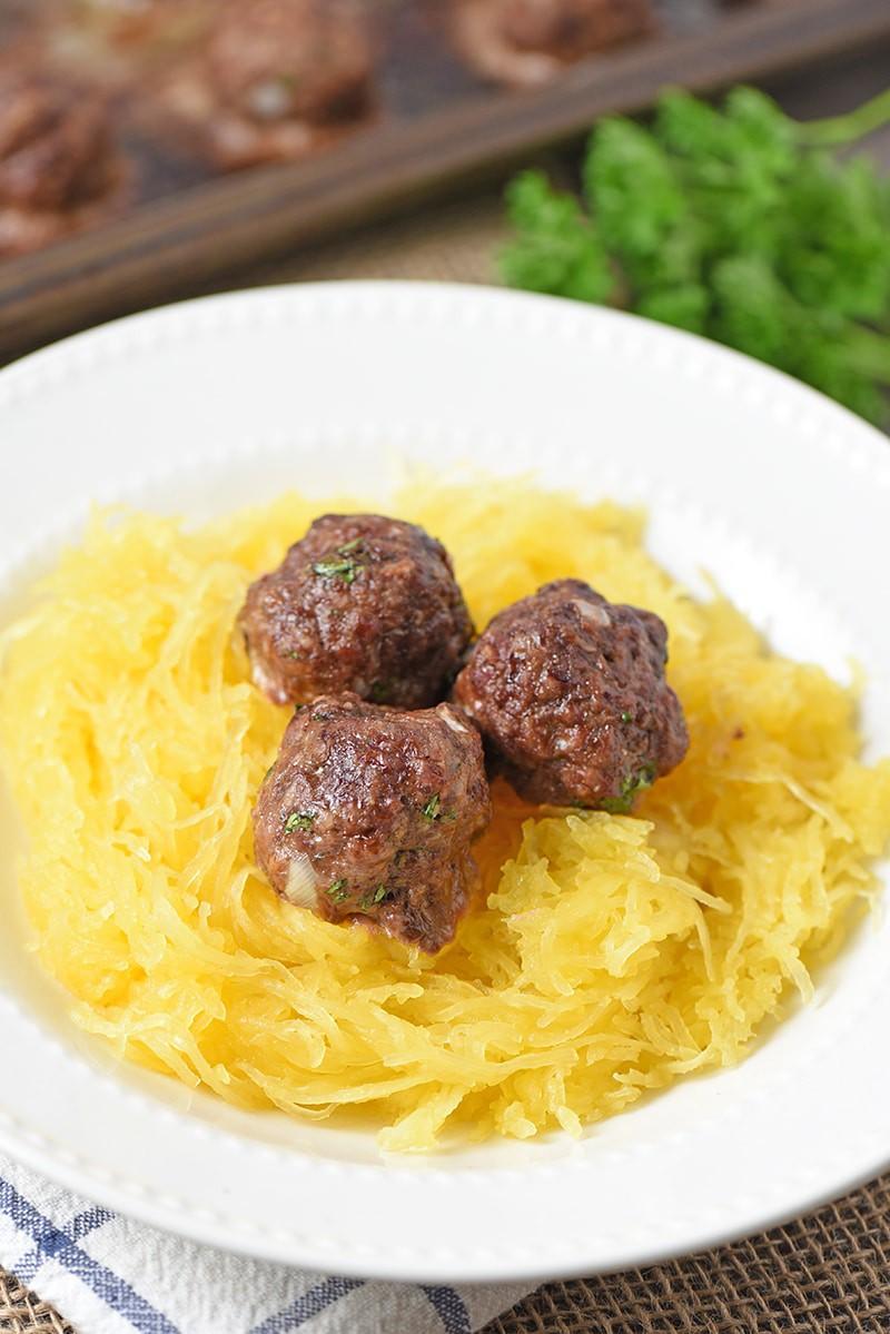 Spaghetti Squash Spaghetti without sauce