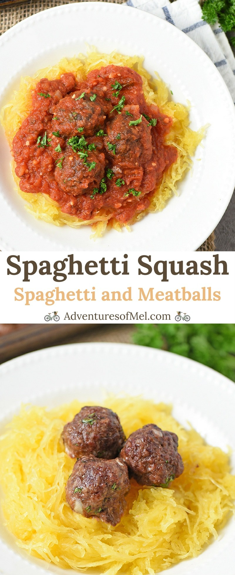 Spaghetti Squash and Meatballs Easy Recipe