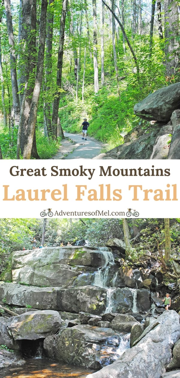 Hiking to Laurel Falls in the Great Smoky Mountains