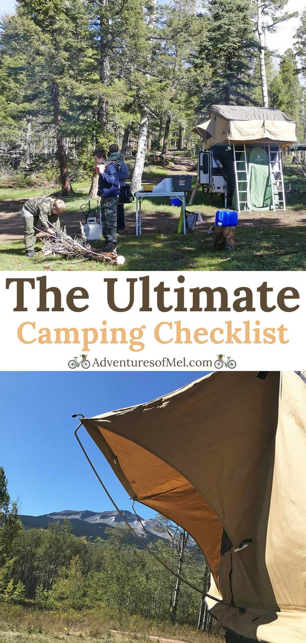 Ultimate Camping Checklist for Packing