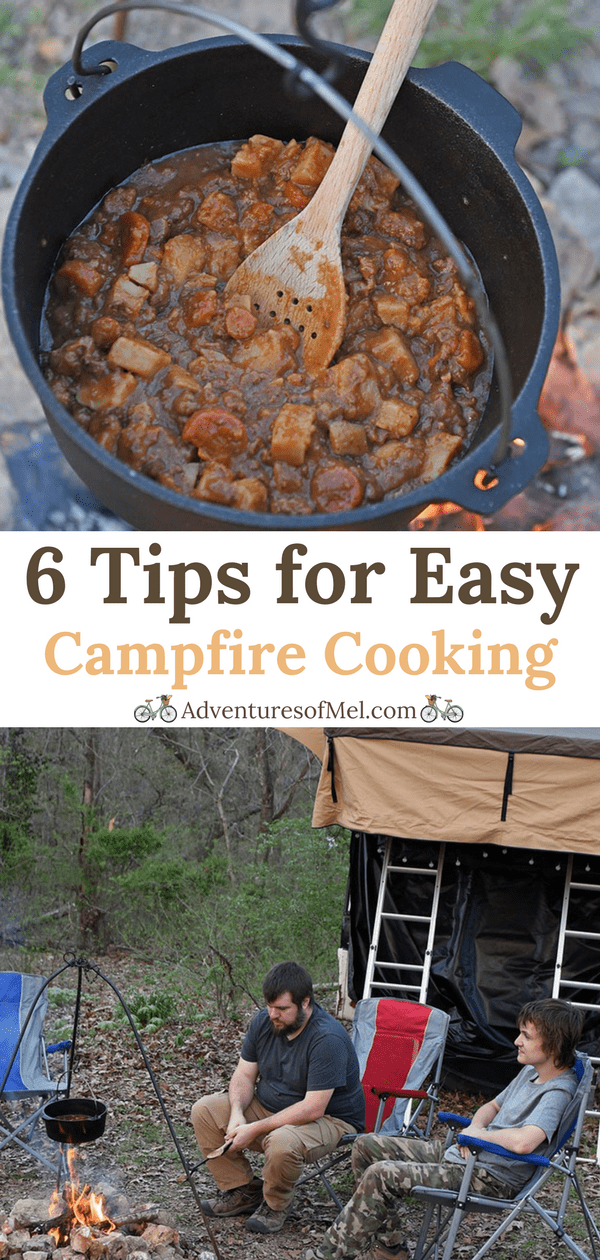 6 Tips for Quick and Easy Campfire Cooking