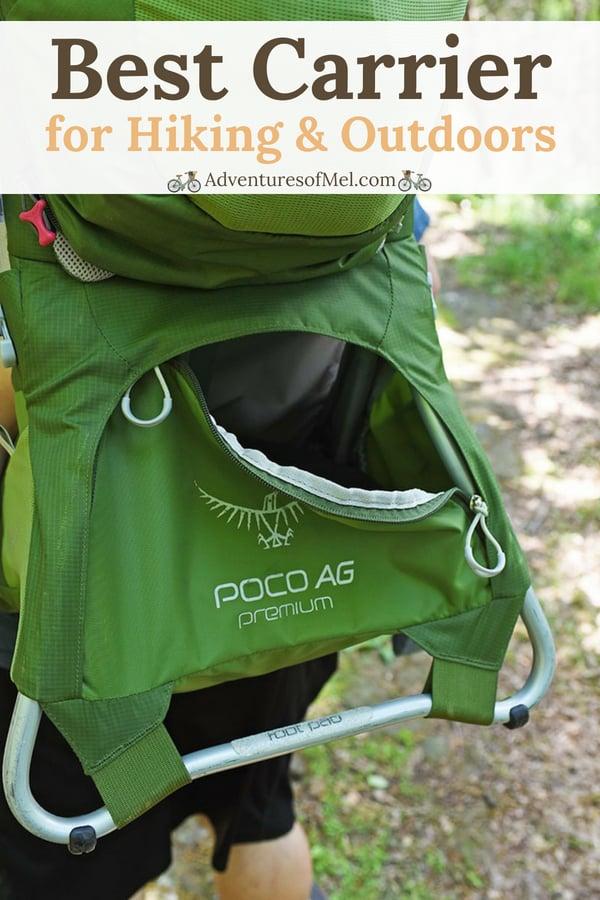 Osprey Poco AG Premium baby carrier backpack/toddler carrier backpack