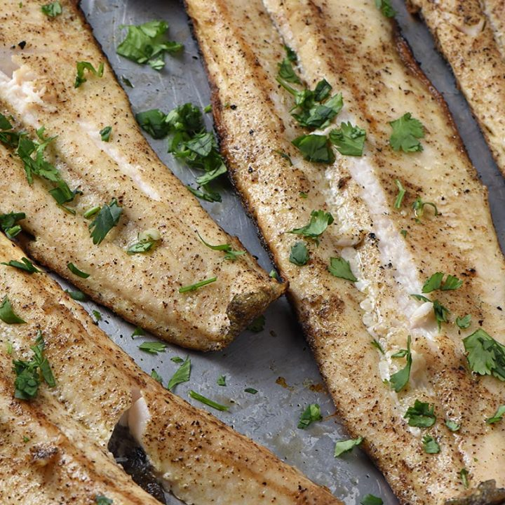 Simple and Delicious Grilled Fish Fillets