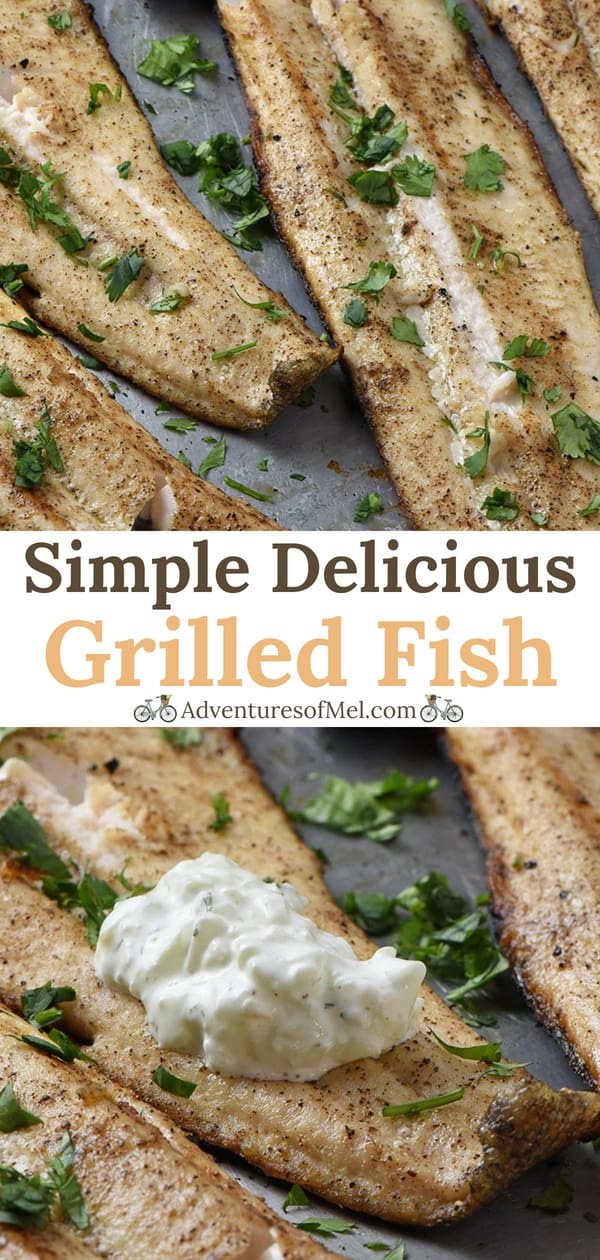 Simple and Delicious Grilled Fish Fillets Recipe
