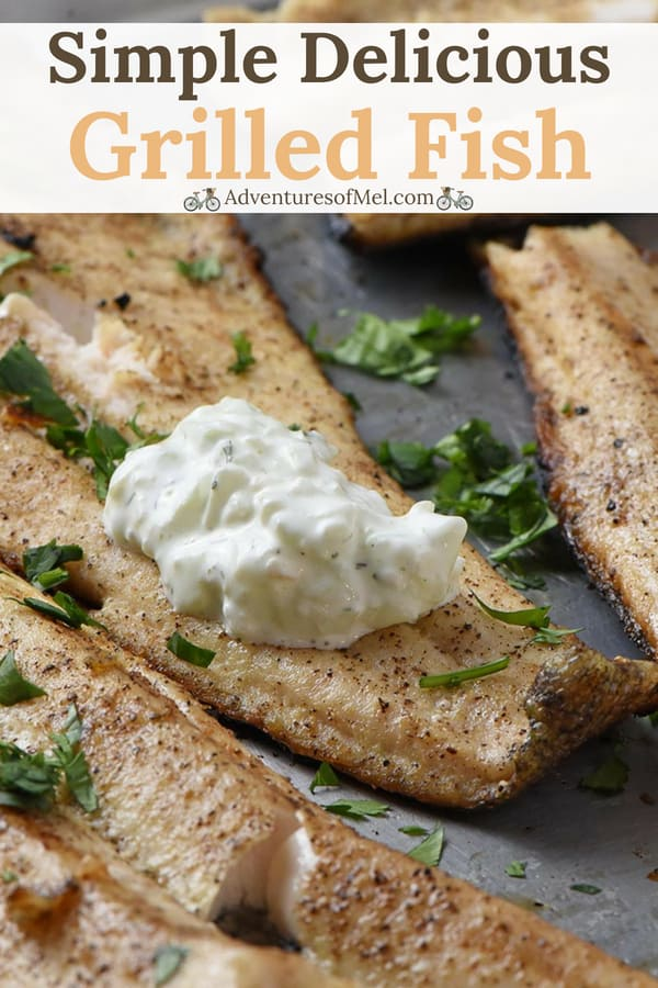 delicious grilled fish fillets recipe
