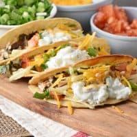 Easy Fish Tacos with a Tzatziki Fish Taco Sauce