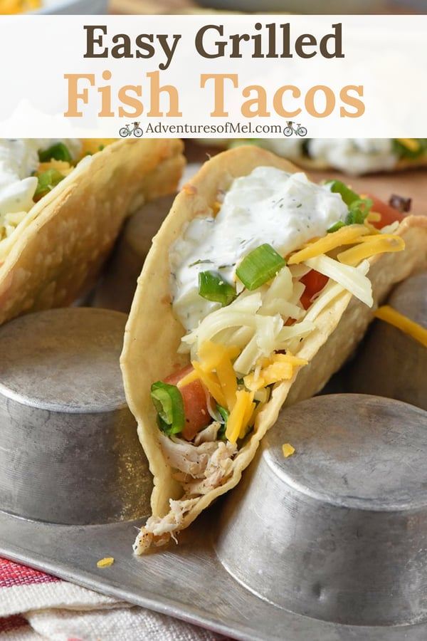 crunchy fish tacos with a creamy fish taco sauce