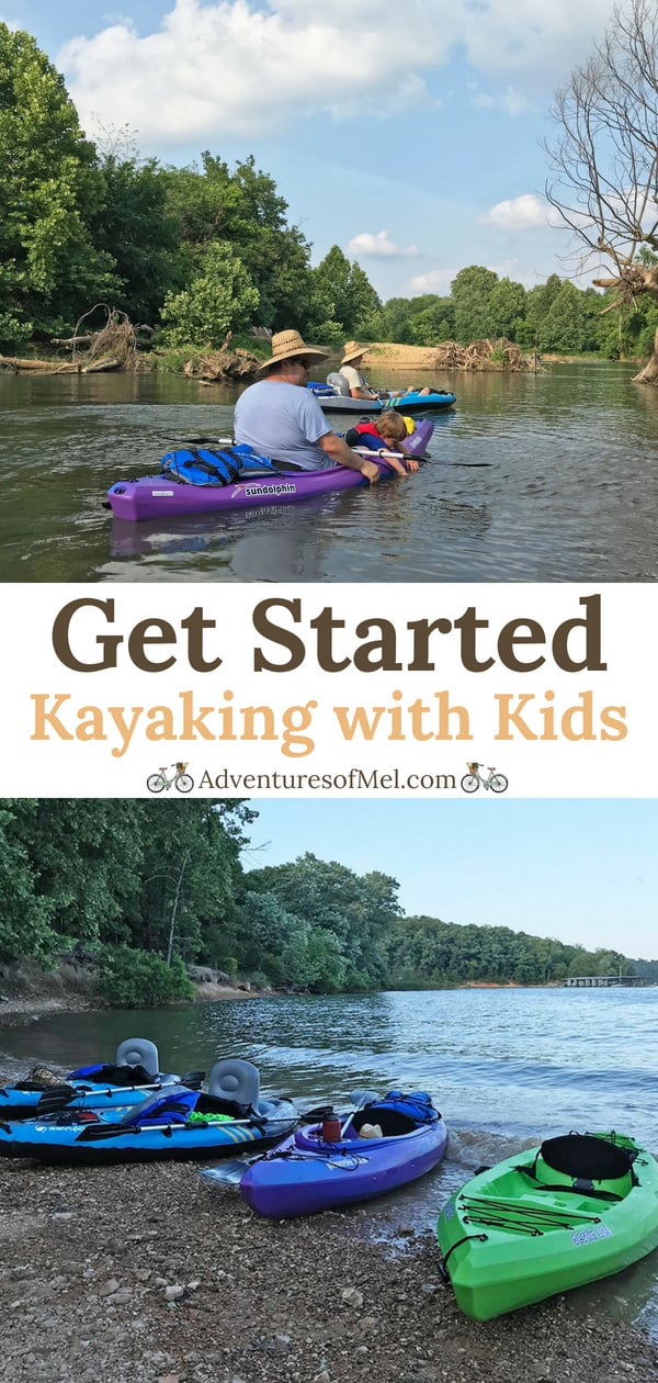 How to get started kayaking with kids