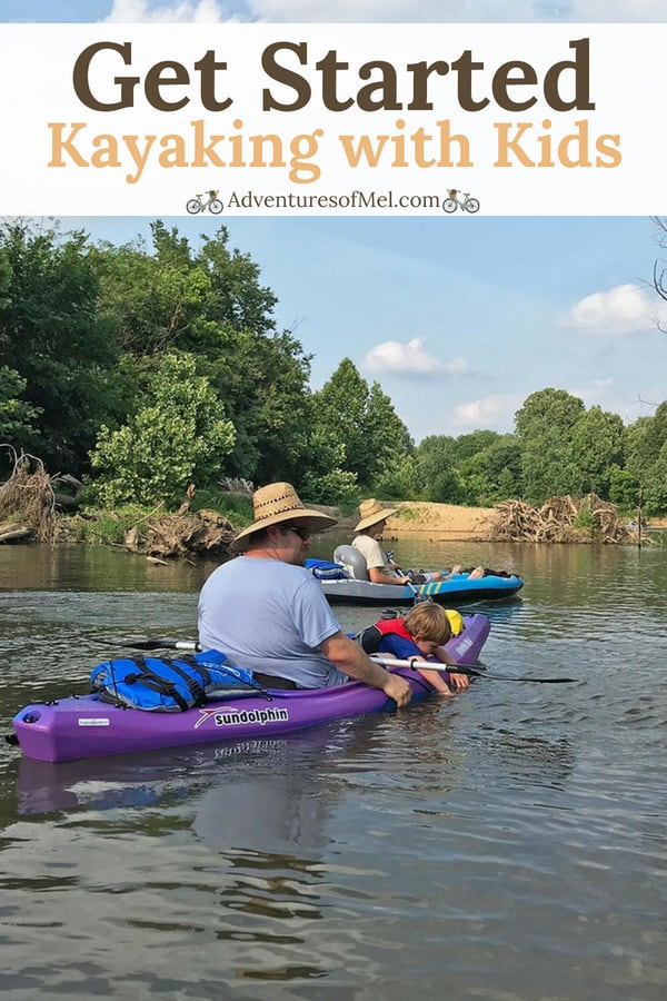 Get started kayaking with kids