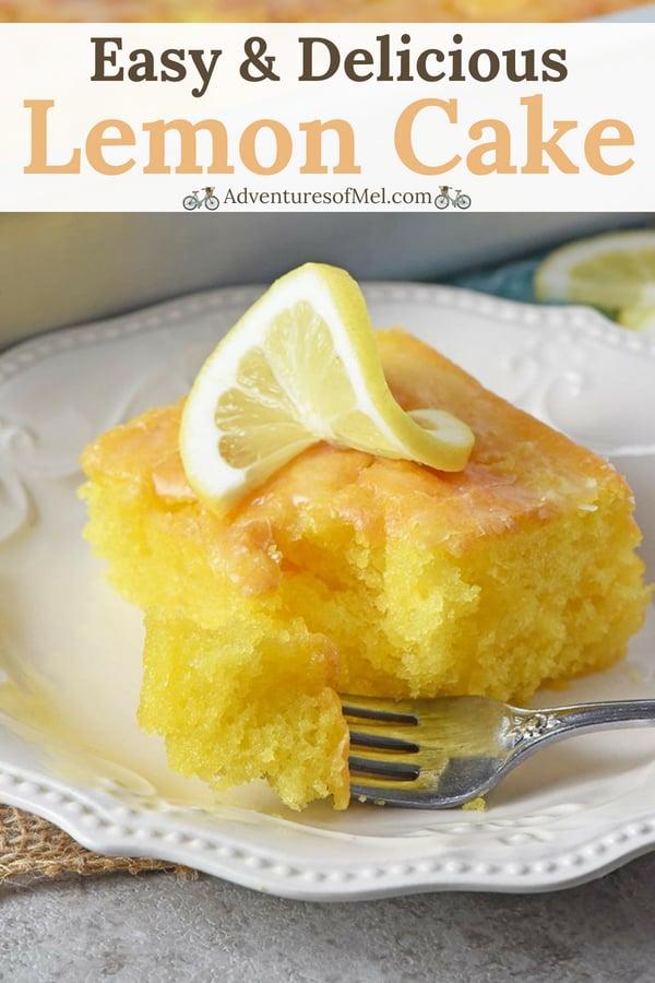 best lemon cake recipe ever