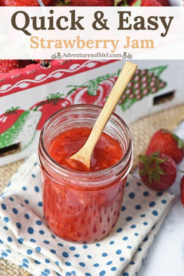how to make strawberry jam for the freezer