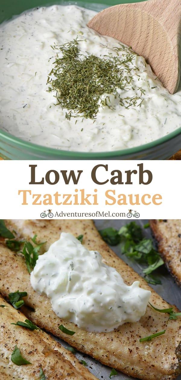 Low Carb Tzatziki Sauce Recipe
