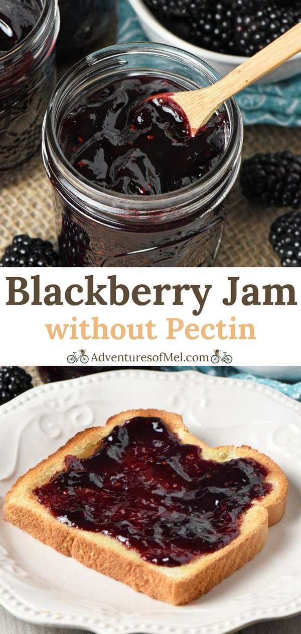 Simple Blackberry Jam without Pectin