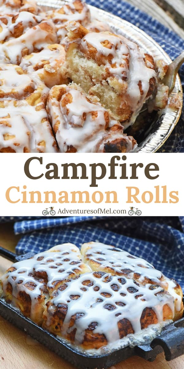 easy cinnamon rolls recipe for camping