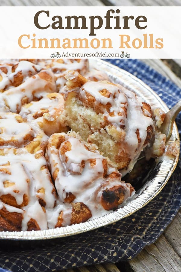add these cinnamon biscuits or cinnamon rolls to your favorite camping recipes