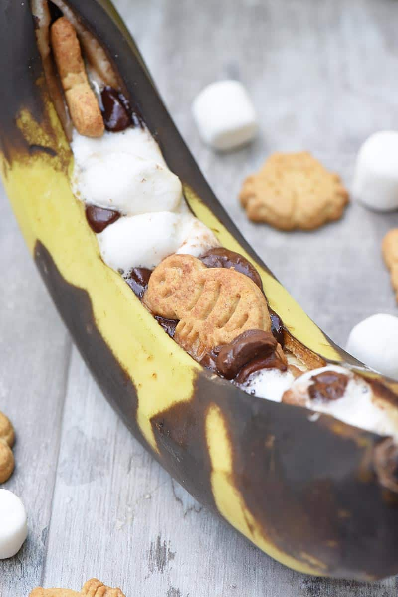 banana s'mores recipe