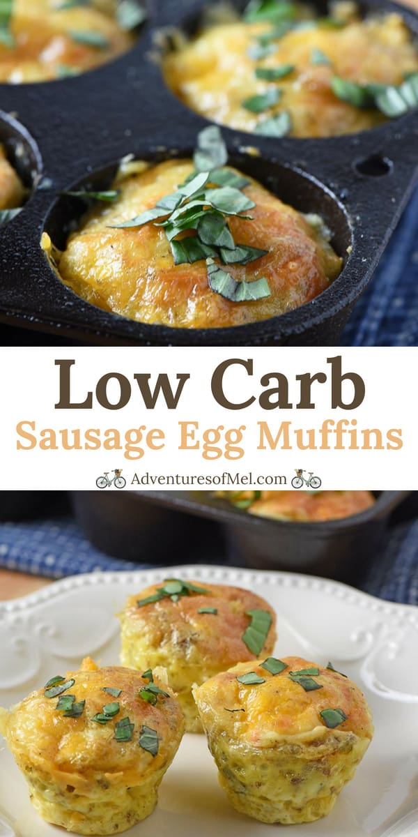 low carb sausage egg muffins recipe from scratch