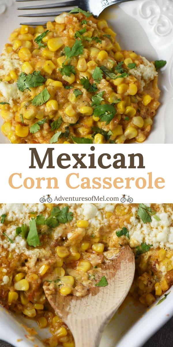 Mexican Corn Casserole with Bacon Recipe