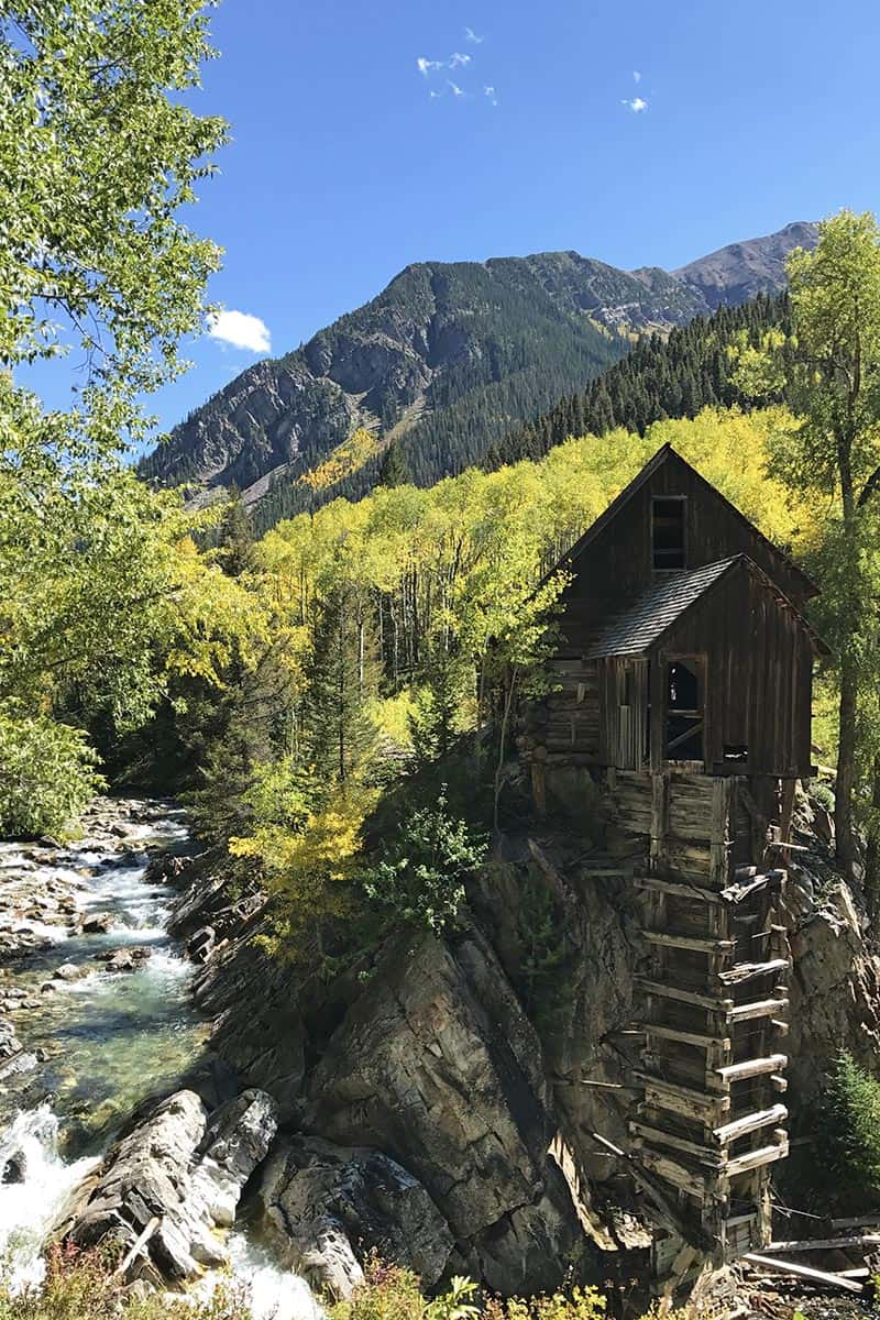haunted Crystal Mill in Colorado