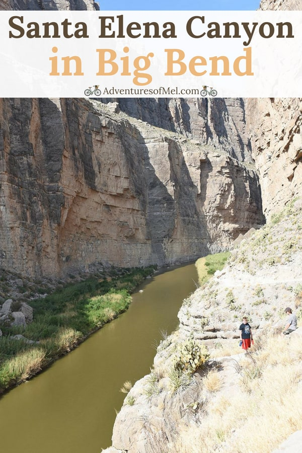 Hiking Santa Elena Canyon in Big Bend, Texas