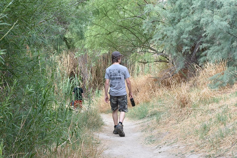hike with kids on Santa Elena Trail in Big Bend in Texas