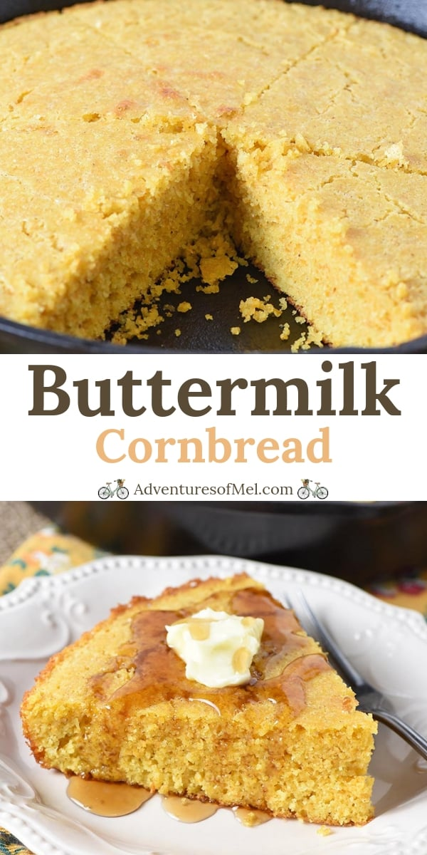 buttermilk cornbread recipe from scratch