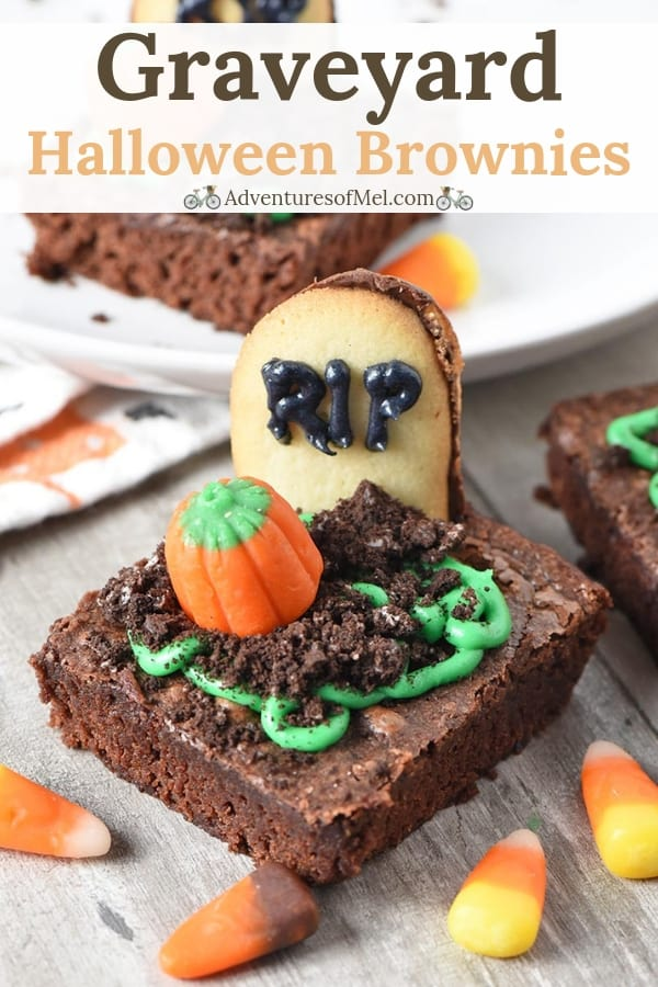 graveyard halloween brownies recipe