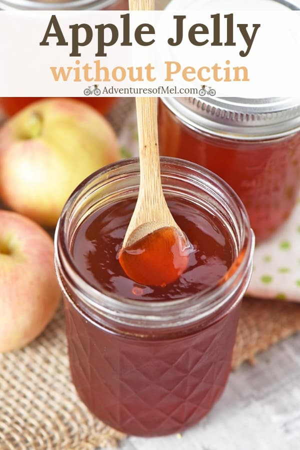 easy homemade apple jelly without pectin recipe