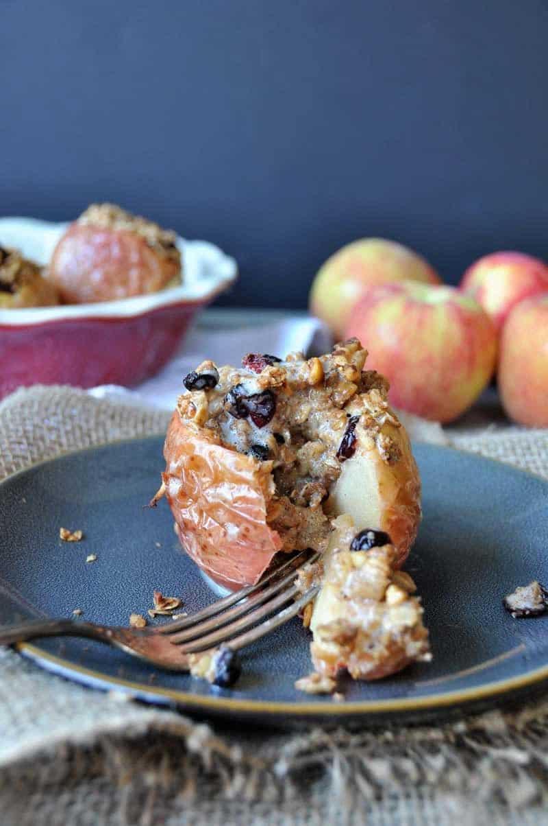 Sugar-Free Stuffed Baked Apples