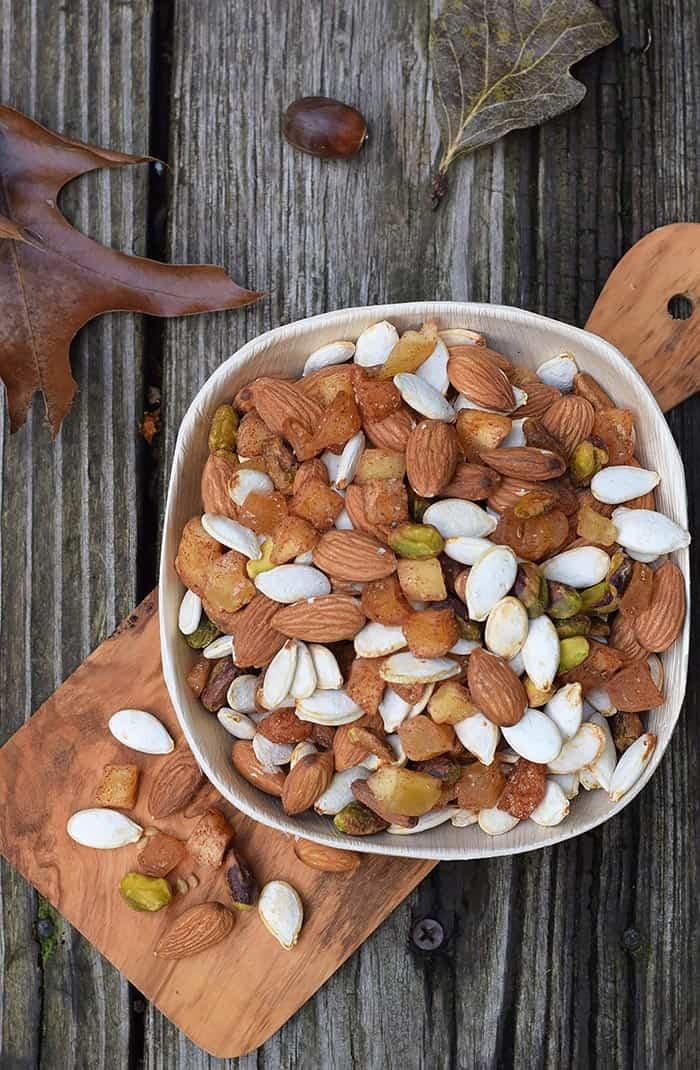 Apple Cinnamon Pumpkin Seed Trail Mix