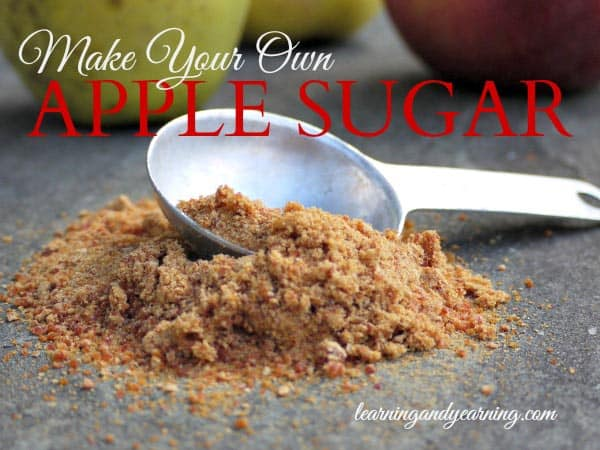 Make Your Own Apple Sugar