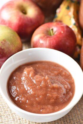 No-Peel Instant Pot Cinnamon Applesauce