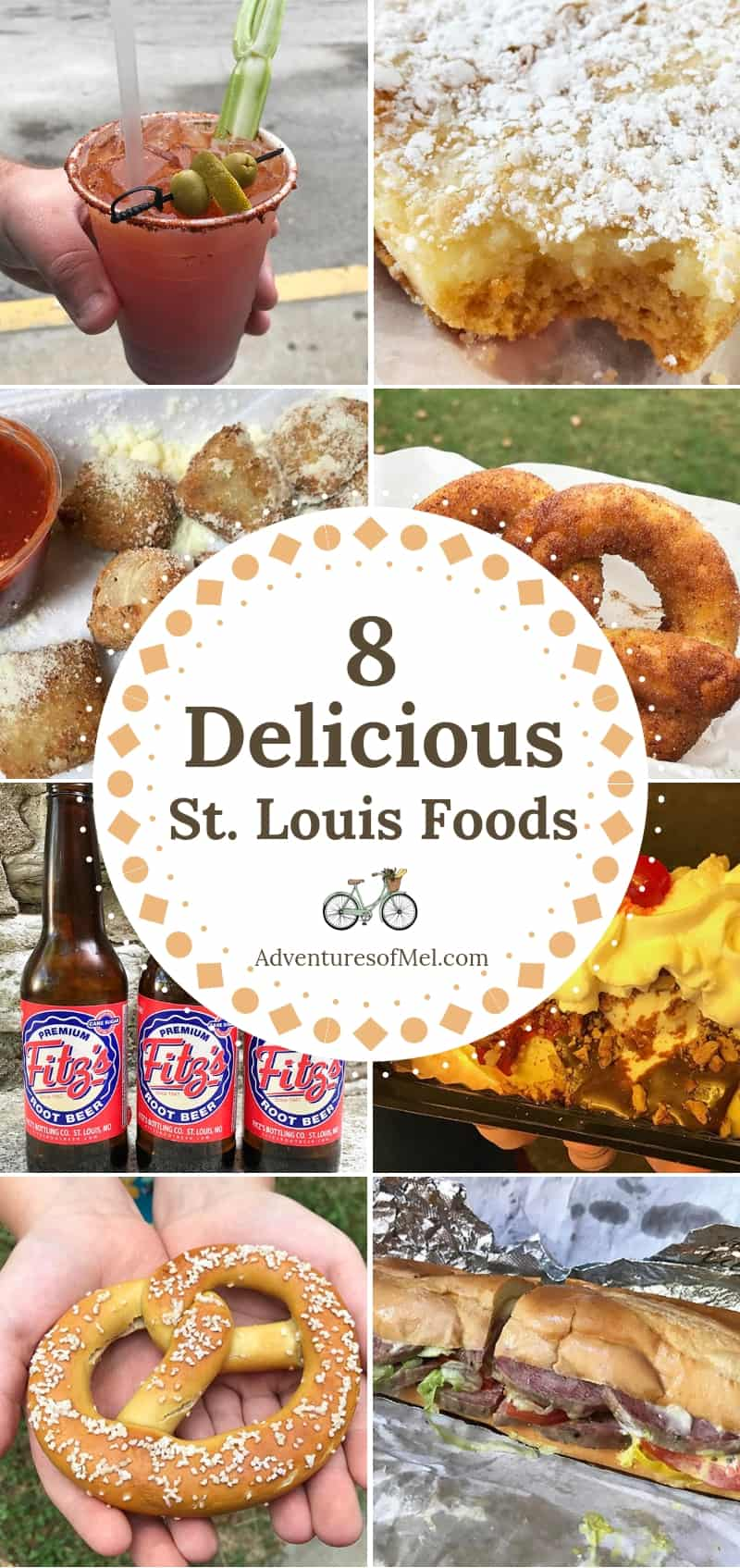 delicious must try St. Louis foods and best restaurants in St. Louis