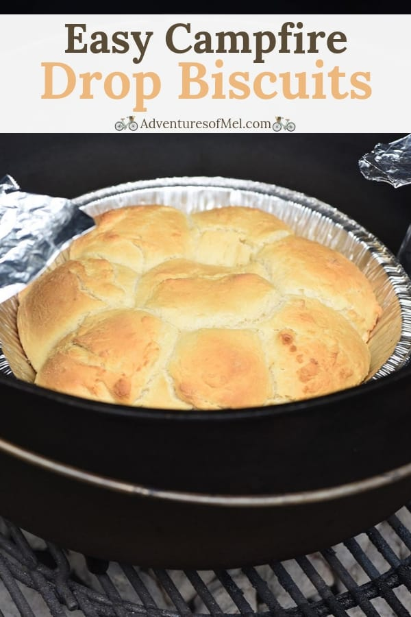 easy campfire drop biscuits Bisquick recipe