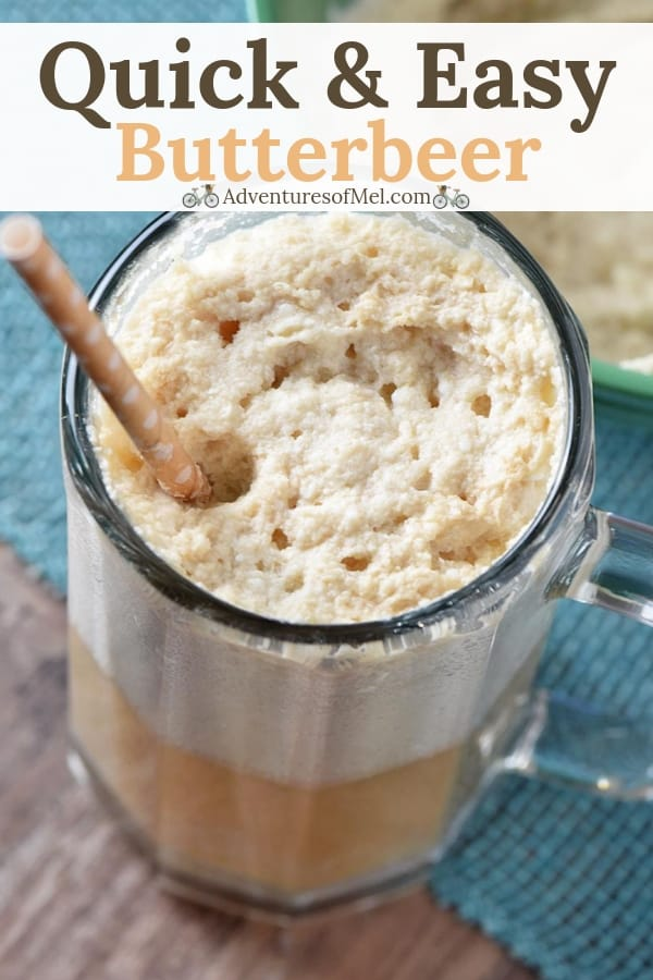 quick and easy Harry Potter butterbeer recipe